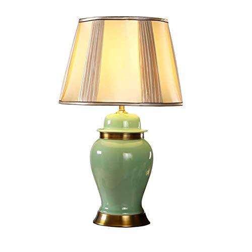 WZHZJ Lámpara de Mesa Regulable Lámpara de Mesa Retro Dormitorio lámpara de cabecera del Hotel la decoración del hogar Lámpara de Mesa