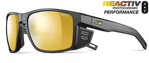 Julbo - Gafas de sol para hombre, color negro, talla única