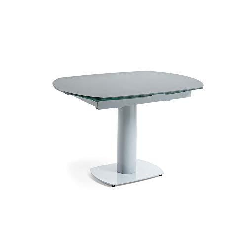 Kave Home - Uitschuifbare tafel Rachel 120 (180) x 90 cm grijs