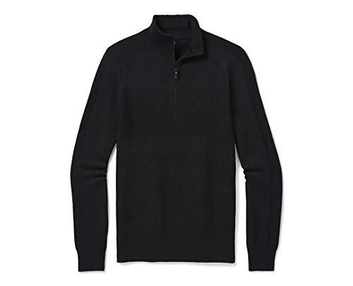 Smartwool Ripple Ridge 1/2 Zip Sweater - black - Large