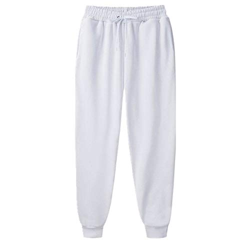N\P Pantalones Harem para hombre, pantalones casuales con cordón
