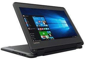 Lenovo Thinkpad Yoga 11.6-inch IPS Anti-Glare Touchscreen 2-in-1 Laptop, Intel Celeron N3060 Dual Core Processor Upto 2.48 GHz, 4GB Memory, 128GB SSD, 32GB eMMC, WiFi, HDMI, Bluetooth, Windows 10 Pro