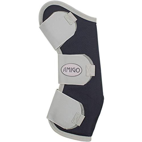 Amigo Travel Boots Horse Navy/Silver