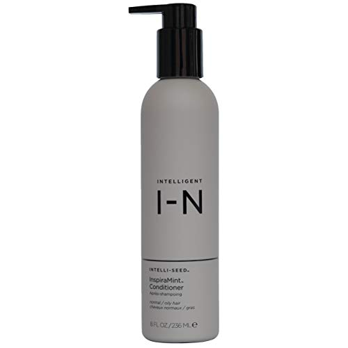 Intelligent Nutrients InspiraMint Invigorating Conditioner - Hydrating, Non-Toxic Conditioner with Peppermint & Spearmint Oil - New Look, Same Tingle (8 oz)