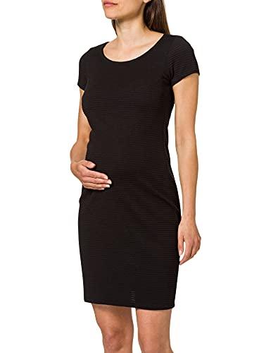Noppies Damen Dress ss Zinnia Kleid, Black-P090, 34