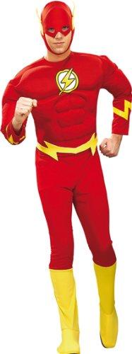 Rubie's The Flash Der rote Blitz Herren Kostüm Größe L 52/54