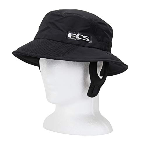 FCS Essential Bucket Surf Hat - Black - M