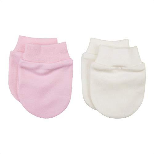 Sevira Kids - Moufles naissance en coton biologique (2 paires)