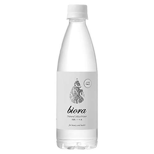 biora 天然シリカ水 500ml24本 シリカ72mg/L 【シリカ水24本】