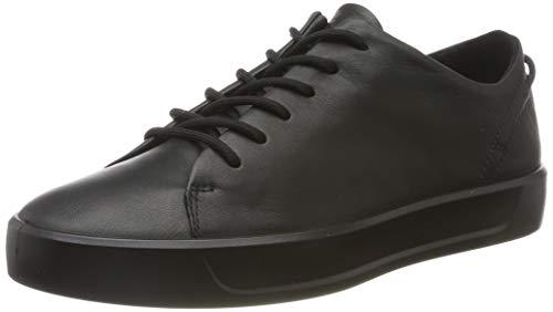 Ecco Damen SOFT8W Sneaker, Schwarz (Black 1001), 40 EU