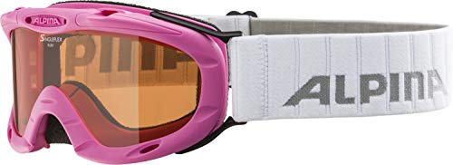 ALPINA RUBY S Skibrille, Kinder, rose, one size