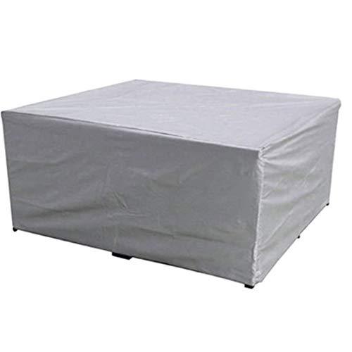 BWBG Cubiertas para Muebles De Patio, Fundas para Mesas De Exterior Cuadrada Impermeable Funda Protectora Muebles Terraza Anti-UV Juego De Funda para Muebles- 231 * 231 * 90cm