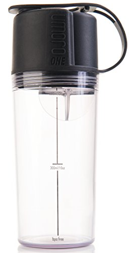 Umoro One Multifunction Protein Shaker Bottle and Water Bottle in one