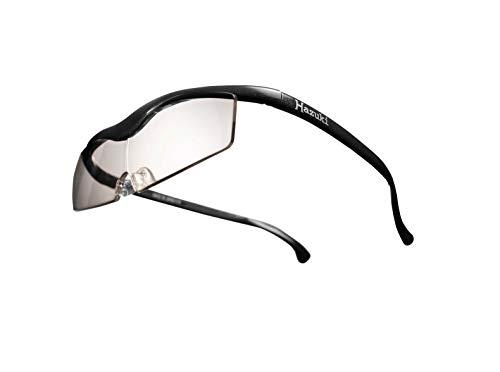 Hazuki ハズキルーペ 直営店 公式店 限定 倍率交換保証付き コンパクト 1.6倍 カラーレンズ 黒 ハズキ 拡大鏡 ルーペ メガネ型 眼鏡型 めがね型 メガネ 眼鏡 めがね 日本製 MADE IN JAPAN ギフト