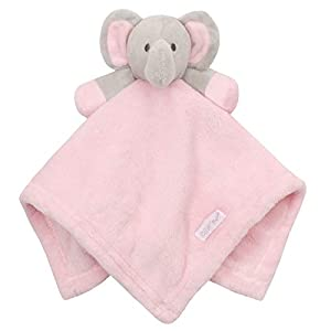 Mothercare White Mouse Bunny Comforter Soother Blankie Baby Soft Toy