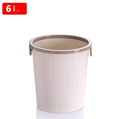 SOME Cubos de basura Basura y reciclaje Creative Trash, Living Room Hotel Kitchen and Toilet Trash, Office Trash (Size : Small)