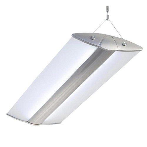 Pendelleuchte, Bürolampen, FUNNY LED 72W, max 4x26W, neutralweiss (4000K), Deckenleuchte, Hängeleuchte, Büro Designleuchte