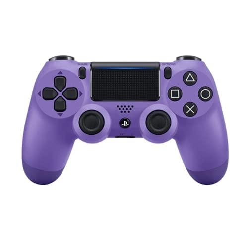 Controle joystick PS4 sem fio primeira linha - bluetooth, função de vibração dupla, conector de áudio para PS4 - Várias cores (Roxo)