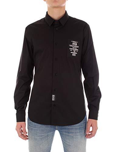 Versace Jeans Couture B1GVB6S0-30205 Hemden Beiläufig Mann schwarz 48