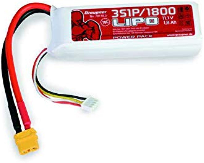 nuevo listado 78118.3 grispner Power Pack Lipo 3 180011,1V 70C 70C 70C XT60  El nuevo outlet de marcas online.