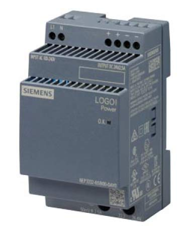 6EP3332-6SB00-0AY0 | SIEMENS LOGO POWER SUPPLY, 2.5A, 100-240VAC INPUT, 24VDC