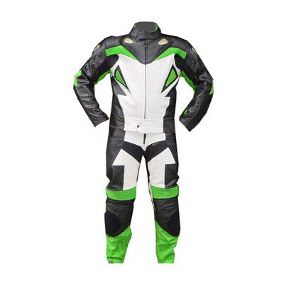 Corso Fashion Herren Motorrad Lederkombi - Motorrad Rennsport Schutzkleidung Bikerausrüstung - Maßanfertigung Style208