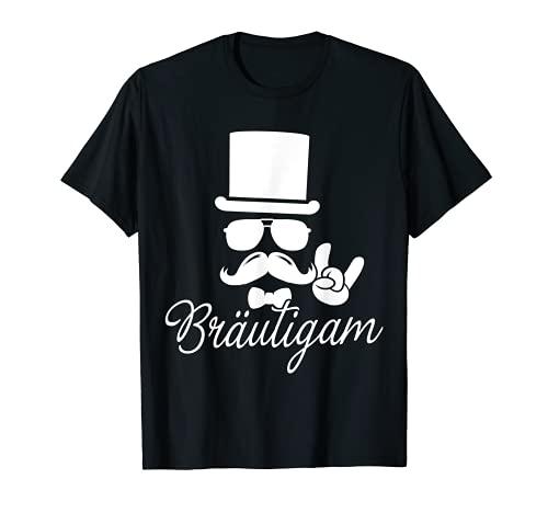 Herren Brautigam JGA Hochzeit Polterabend Junggesellenabschied Fest T-Shirt