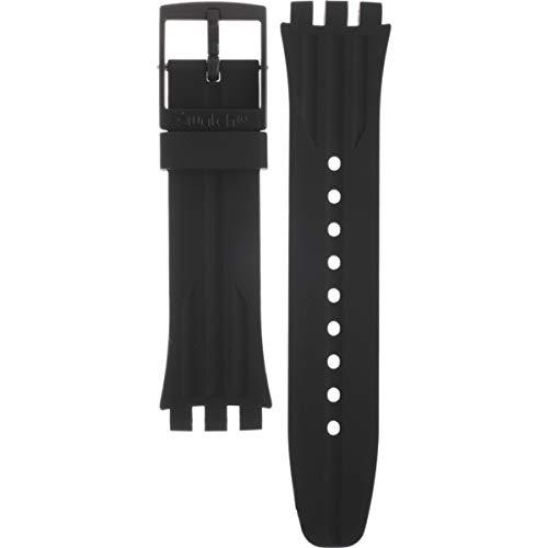 Cinturino in silicone Swatch Nitespeed ASUSB402, UNI
