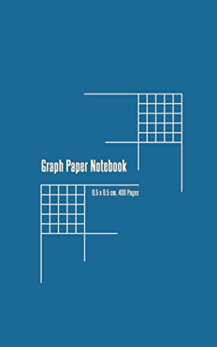 Graph Paper Notebook: Graph Paper Journal - 400 pages 5 x 8 inches - Grid Paper Notebook for students