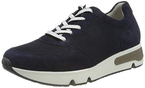 Gabor Shoes Damen Comfort Basic Sneaker, Blau (Bluette (Car) 36), 41 EU