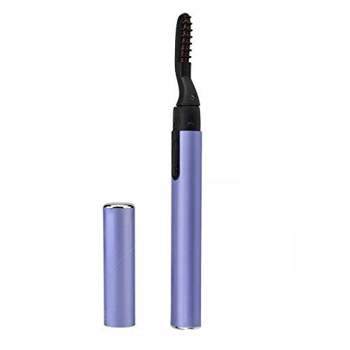 Recourbe-cils électrique, Type de Stylo portatif Cils électriques de Maquillage Durant (Color : Purple)
