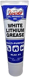 Lucas Oil 10533 White Lithium Grease - 8 oz. Squeeze Tube