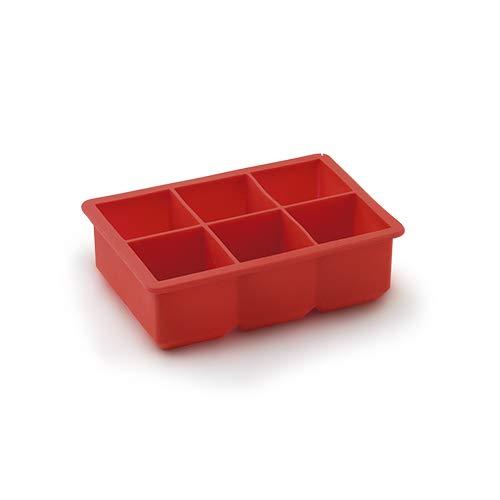 Forma De Gelo Quadrado Grande Mimo Style Vermelho