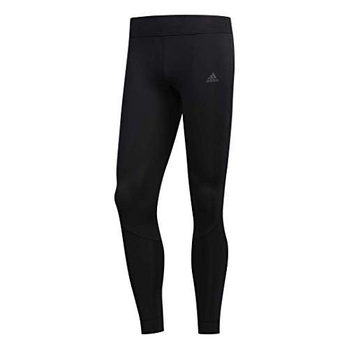 adidas Leggins de Running de Longitud Completa para Mujer Own The Run Reponse Aerolready, Climacool, Color Negro y Negro, Talla XS