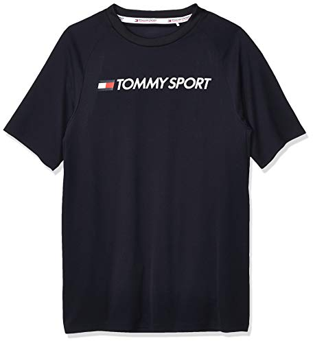 Tommy Hilfiger - Camiseta deportiva de malla para hombre