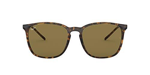 Ray-Ban 0RB4387 Gafas de sol, Havana, 55 para Hombre