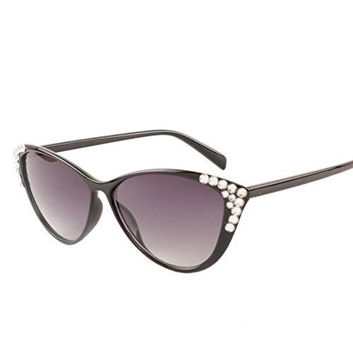 PKYGXZ Gafas de Sol para Mujer Gafas de Sol de Ojo de Gato Retro Europeas y Americanas Gafas de Sol de Diamantes de Moda para Mujer Gafas de Sol Deportivas para Montar en Bicicleta