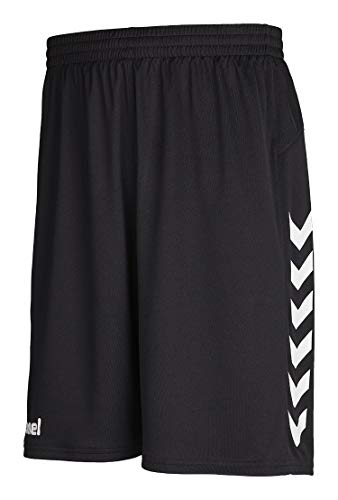 Hummel Herren Short Core Basket Shorts 11087 Black S