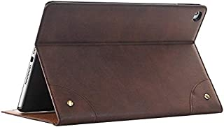 $34 » Jennyfly iPad 10.2 inch Case,Retro PU Leather Book Style Hands-Free Stand Easy Viewing Slim Fit Protection Business Case Hard Cover with Card Slot for 2019 iPad 7th Gen 10.2 inch -Dark Brown