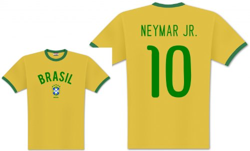 World of Football Player Shirt Brasilien Neymar - S