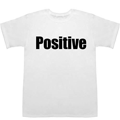 Positive Tシャツ ホワイト XS【ポジティブドリームパーソンズ】【ポジティブシンキング】