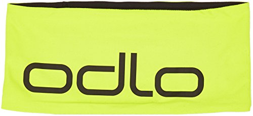 Odlo Headband Reversible Stirnband, Acid Lime - Black