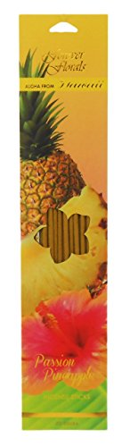 Hawaiian Forever Florals Incense Sticks 8 Packs Passion Pineapple