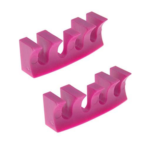 Karrychen - Protector de Adaptador de esparcidor de Carga de Raqueta, 2 Piezas, Color Rosa