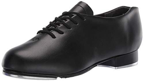 Capezio Unisex Tic Toe Tap Shoe Dance, Black, 4 M US Big Kid