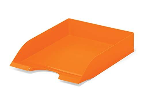 Durable 1701672909 Vaschetta Portacorrispondenza, Arancione Opaco, 1 pezzo