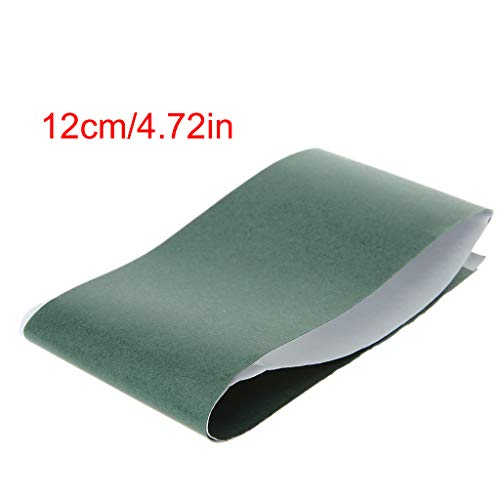Ontracker 1m * 120mm 18650 Isolierdichtung Barley Papier Li-Ionen-Zellen-Kleber-Patch -Grün