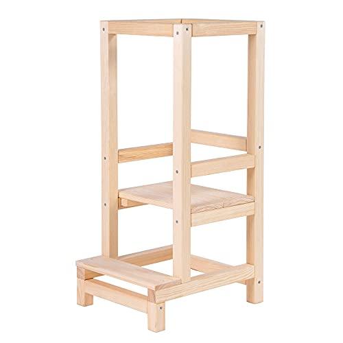 Angelove SMART Torre di apprendimento per bambini, in legno, tower educativo per bambini, a partire dal supporto Learning Tower