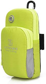 TT WARE Outdoor Fitness Running Men And Women Armed With Armband Sports Arm Bag Phone Bag-Grass Green