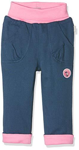Sigikid Baby - Mädchen Wendehose Hose,, per pack Rosa (blau 279), 80 (Herstellergröße: 80)